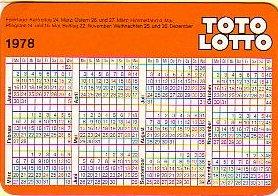 Lotto Kalender